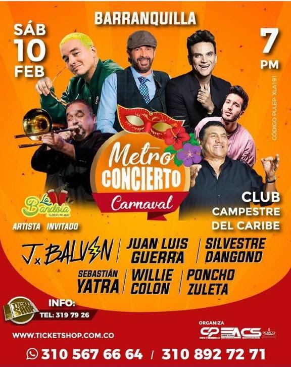 Metro Concierto AG producciones