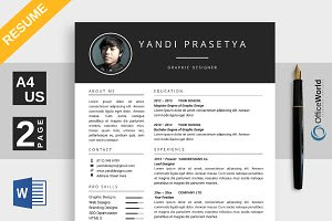 Brilliance Resume / CV Ms Word