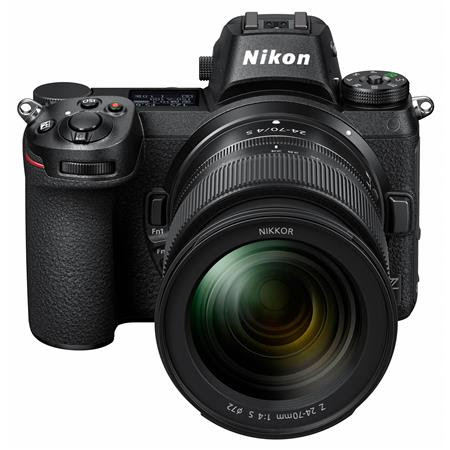 Z6 FX-Format Mirrorless Camera with NIKKOR Z 24-70mm f/4 S Lens