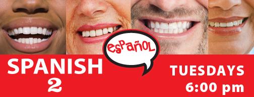 Spanish 2 at Visual Voice Jan 2020