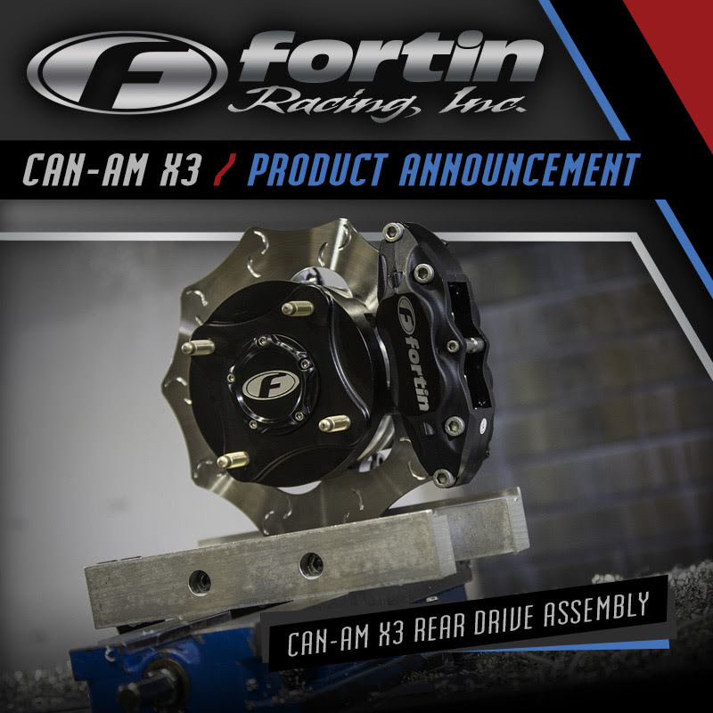 Fortin Racing Can-Am X3 Rear Drive Assembly