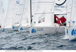 J/70s sailing Alcatel OneTouch Italian championship