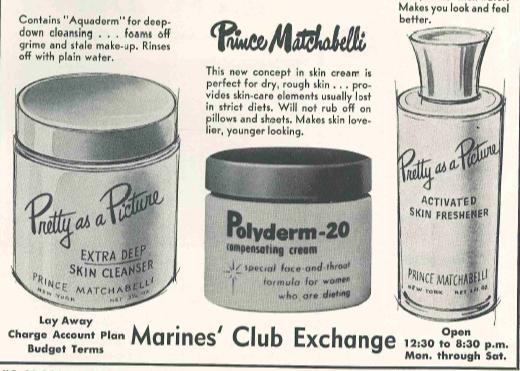 Marines' Club Exchange Beauty