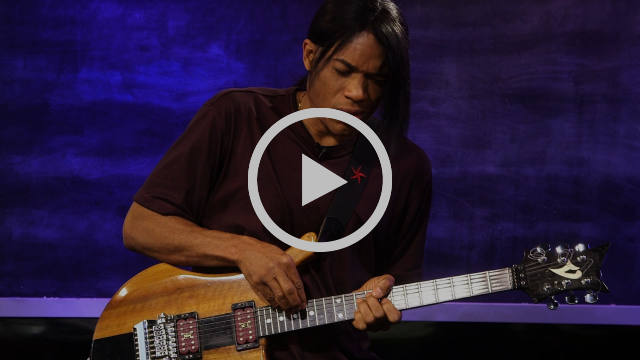 Jazz Guitarist Stanley Jordan Performs 'Treasures'