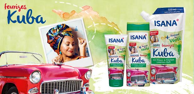"""ISANA """"Around the world"""" feuriges Kuba"""