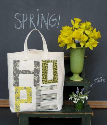 Hope Market Tote Pattern - free!