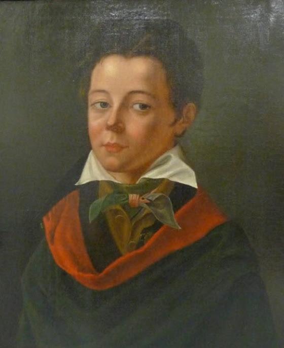 Retrato anónimo de Flaubert siendo niño