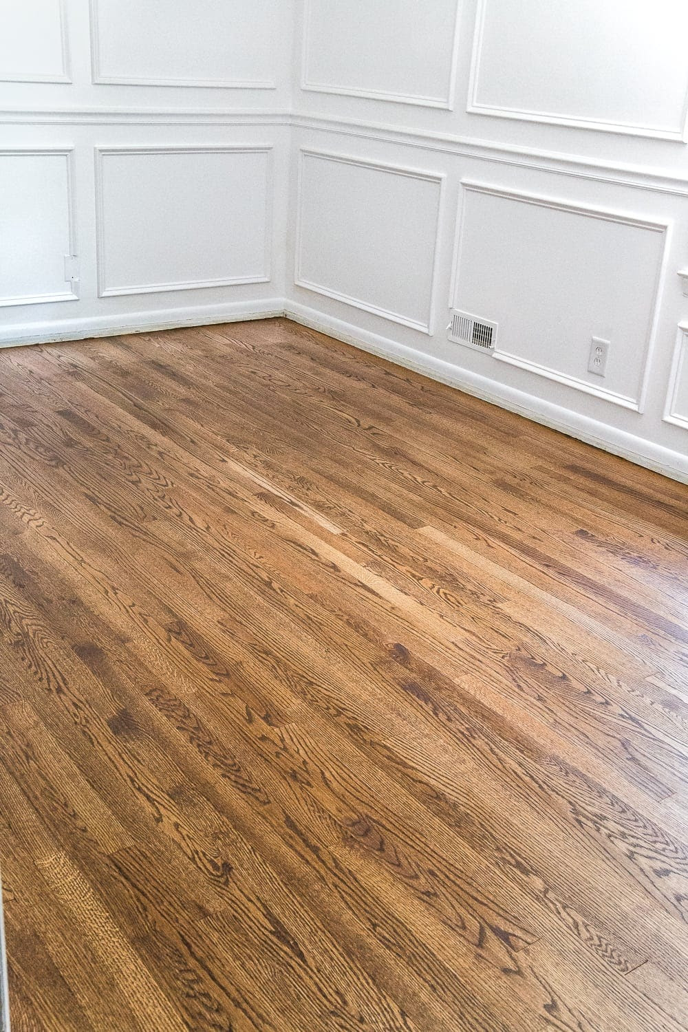 Minwax Provincial Stain + a step-by-step guide for refinishing hardwood floors