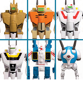 ROBOTECH REACTION FIGURES