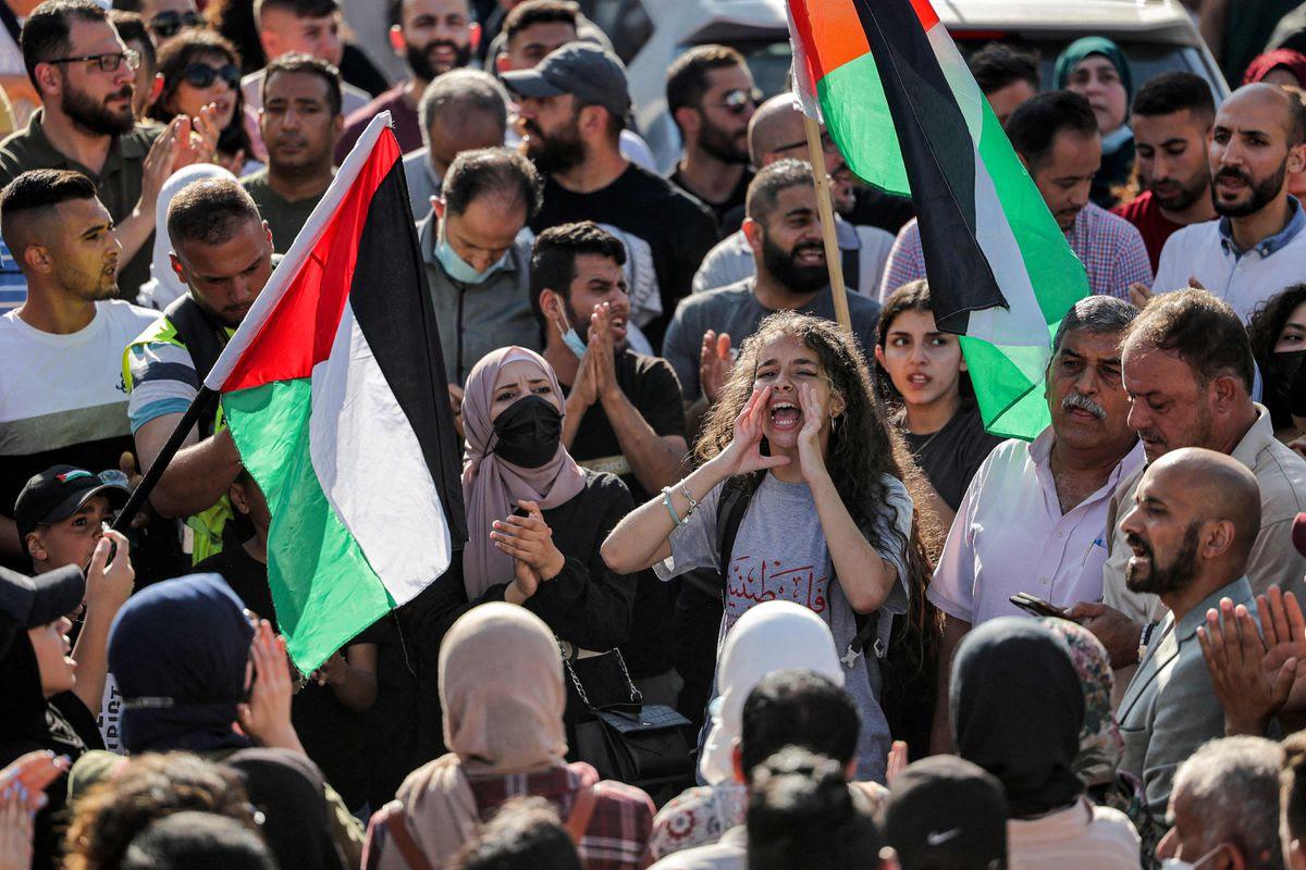 Ramala 26.6. Abbas Momani AFP