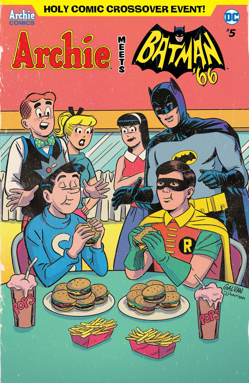 Archie Meets Batman '66 #5: CVR C Galvan