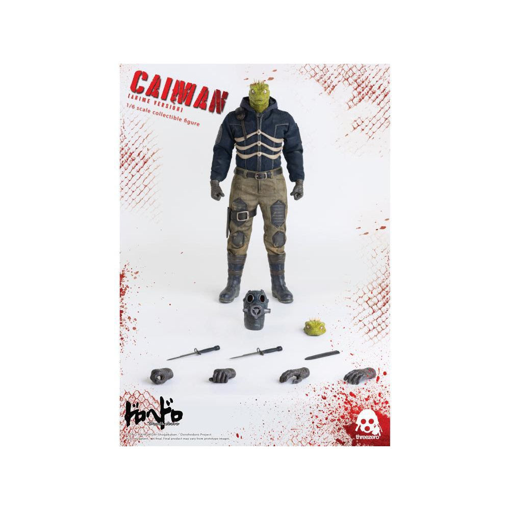 Image of Dorohedoro Caiman Anime Version 1:6 Scale Action Figure - JANUARY 2021
