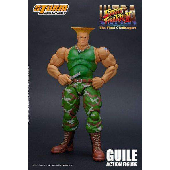 Image of Street Fighter II Guile 1/12 Scale Figure - AUGUST 2019