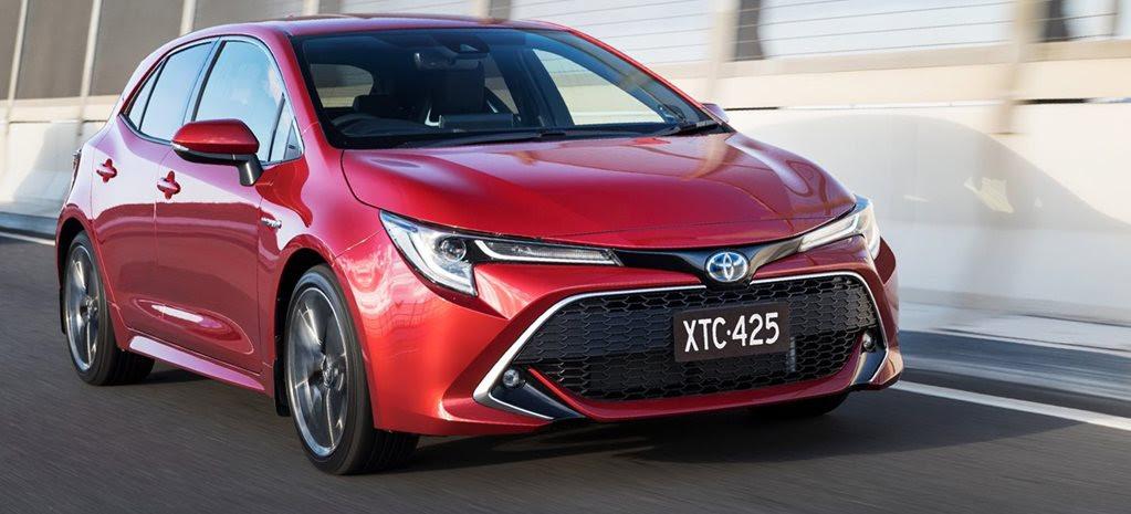 Toyota Australia unfazed by slowing Corolla sales