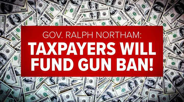 Virginia Gov. Northam Wants Millions in Tax Money to Ban Guns and Jail Gun Owners!