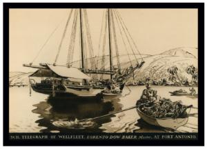 Telegraph schooner in Jamaica