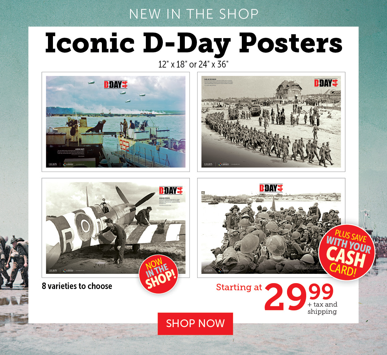 Iconic D-Day Posters!