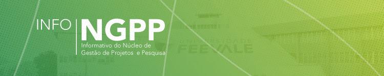 InfoNGPP - Informativo do Núcleo de Gestão de Projetos de Pesquisa