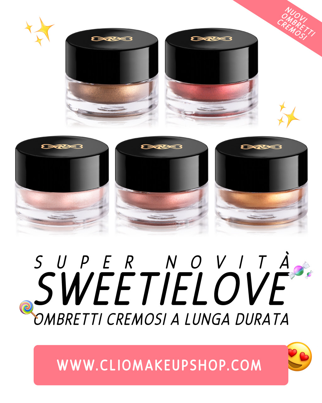 ombretti cliomakeup sweetielove