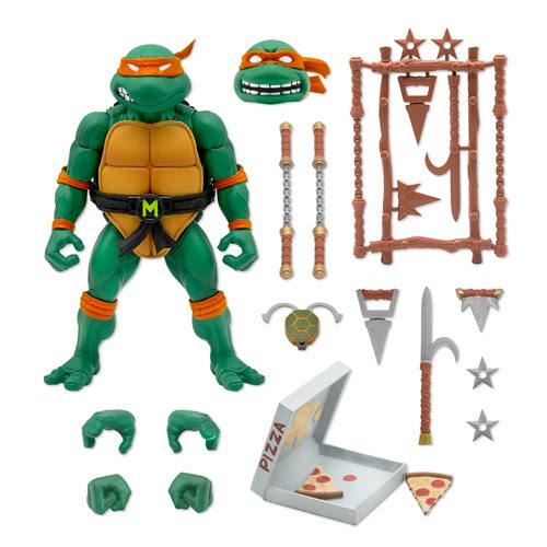 Image of Teenage Mutant Ninja Turtles Ultimates Michelangelo 7-Inch Action Figure - JUNE 2021