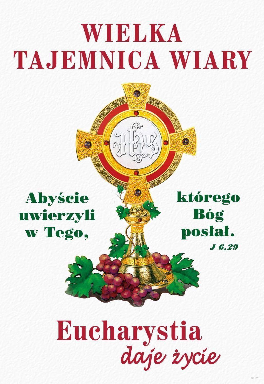 Plakat religijny – Eucharystia daje Życie - Nowy Rok Liturgiczny ...