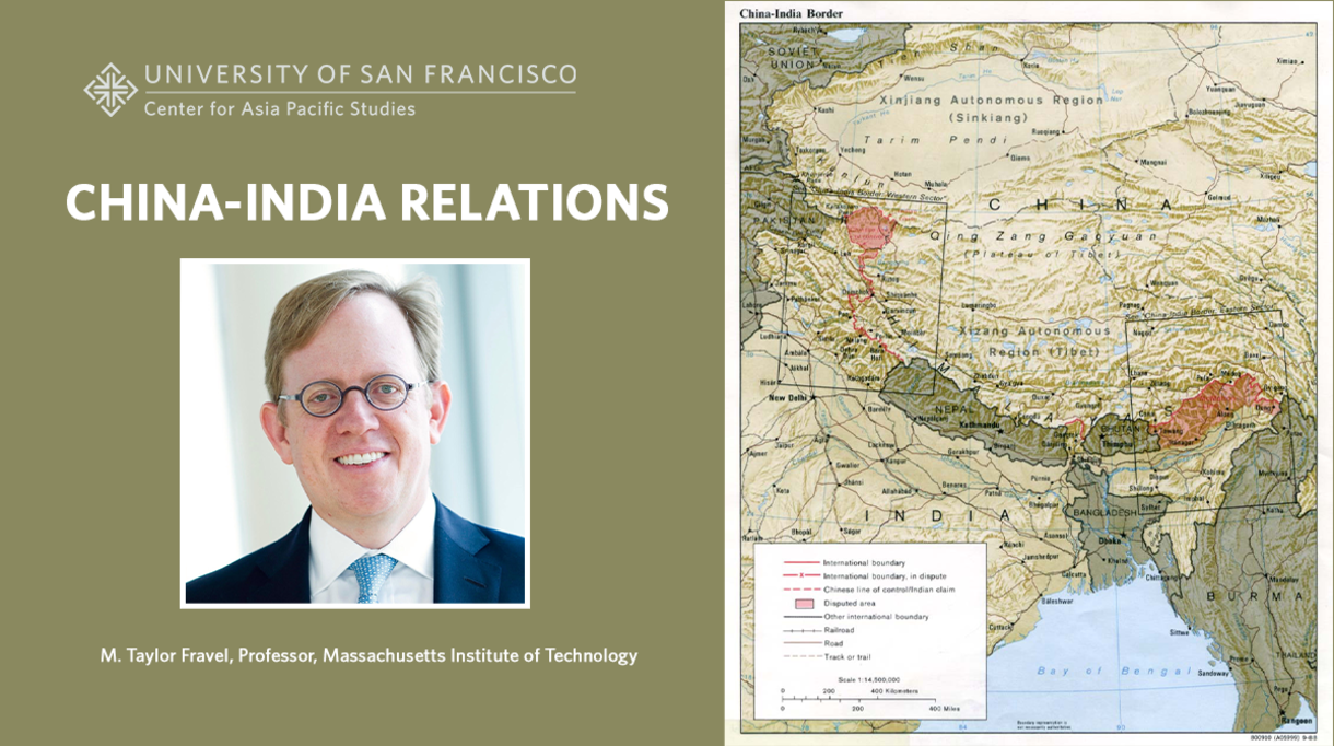 M. Taylor Fravel, Professor, Massachusetts Institute of Technology China India Border map