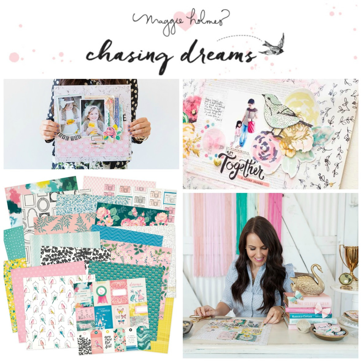PicMonkey Collage chasing dreams