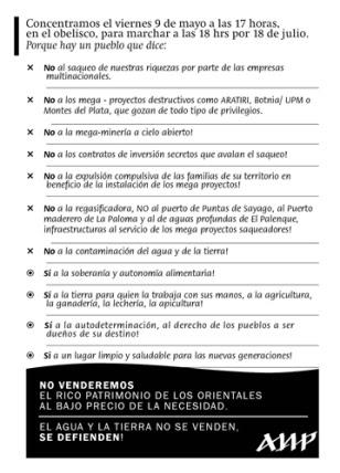 ____Volante_6ta Marcha_Uruguay