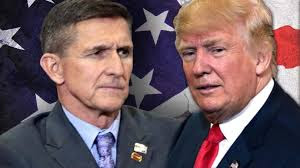 Image result for pictures of trump and flynn