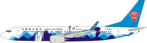 Boeing 737-800WL China Southern B-6068,'Guizhou Livery' (with stand) | is due: June 2019