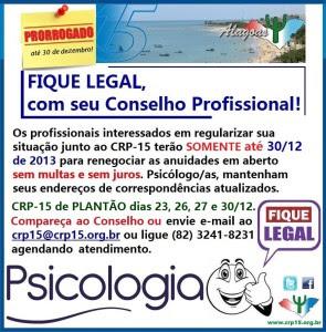 PRORROGADA Campanha FIQUE LEGAL