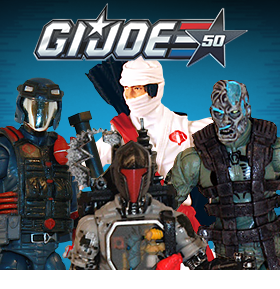50TH ANNIVERSARY G.I. JOE