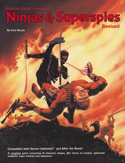 Ninjas & Superspies RPG Hardcover