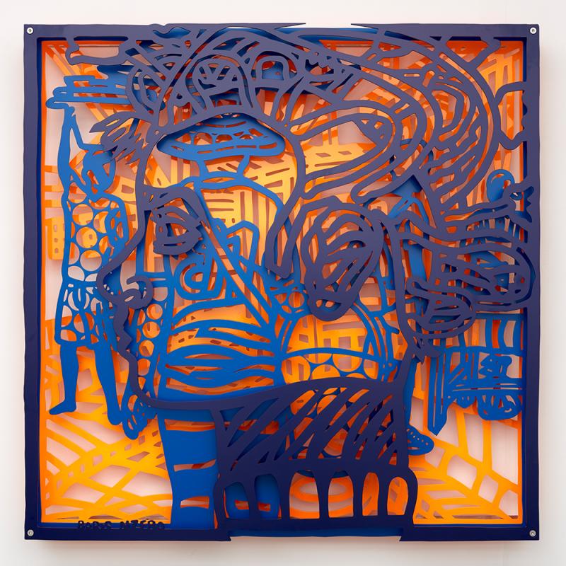<em>Speed Demon by Boris Nzebo, <br>presented by Galerie MAM<br><br></em>