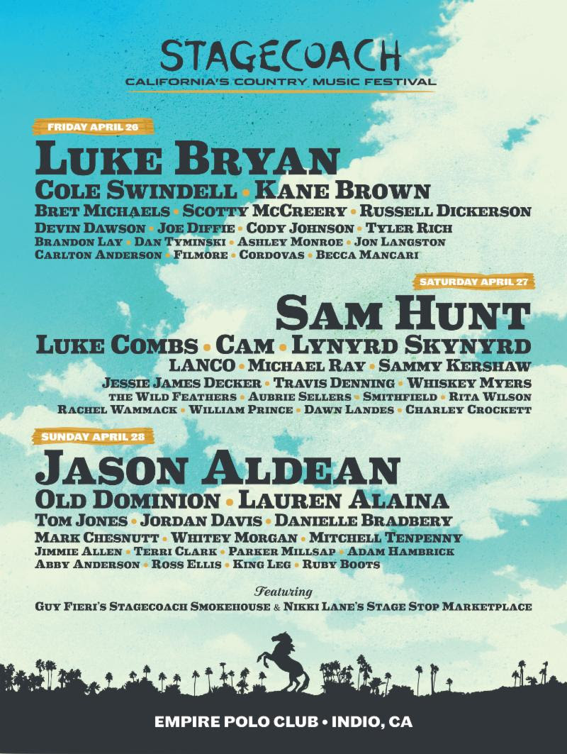 Stagecoach 2019 poster