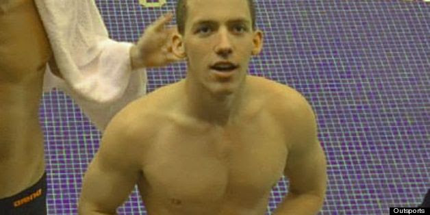 The Great Way This College Swimmer's Teammates Honored Him After He Came Out