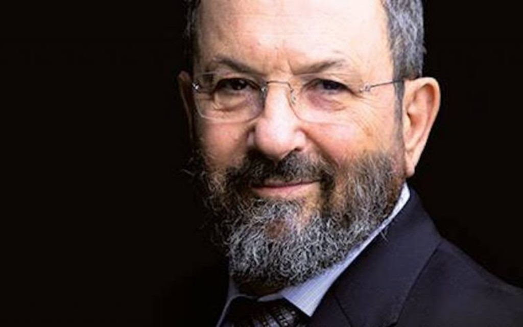 Image result for ehud barak interview against netanyahu