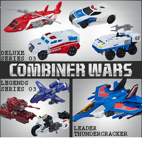 COMBINER WARS NEW ARRIVALS