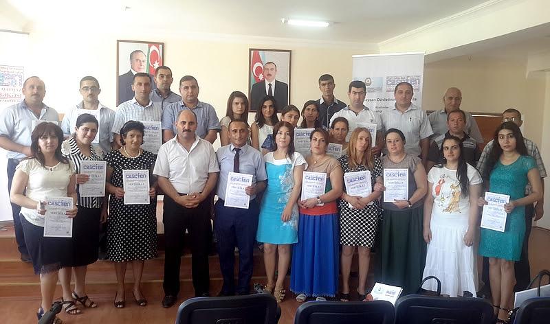 CASCFEN Tərtərdə ifadə azadlığı seminarı keçirib