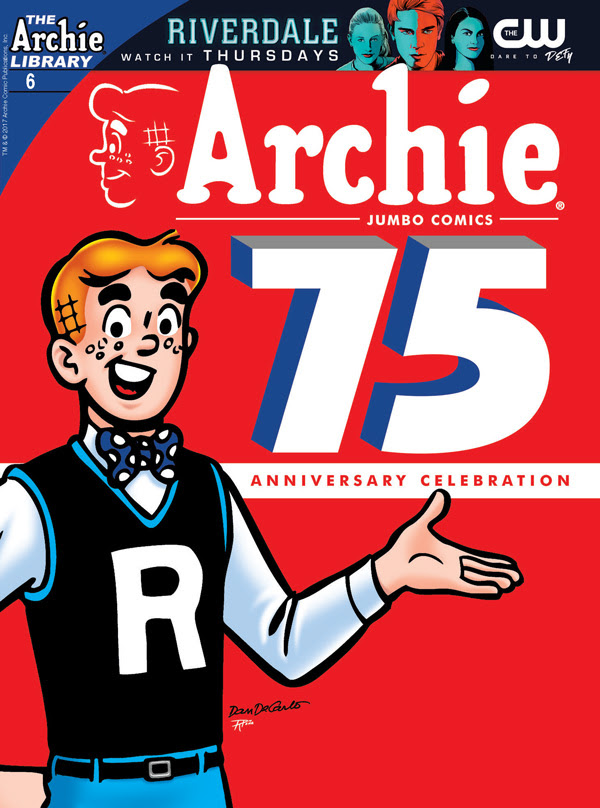 Archie 75th Anniversary Digest Cover