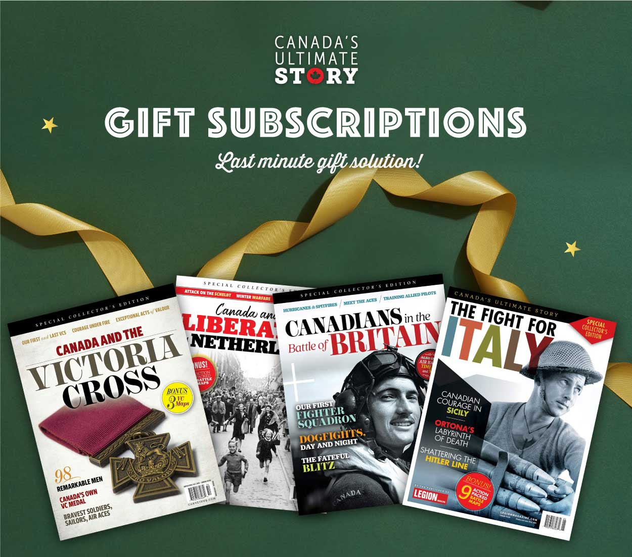 Legion Magazine Gift Subscriptions