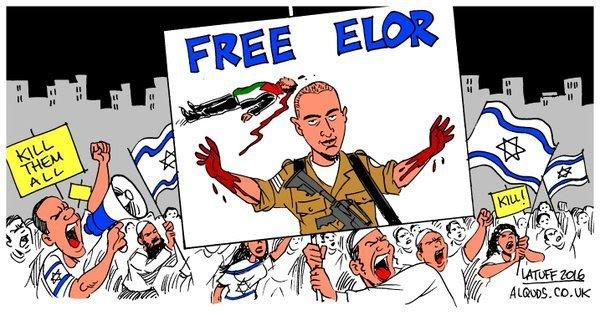 El soldado israelí que mató a palestino herido e indefenso solo pasa a arresto domiciliario