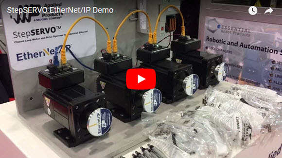 StepSERVO EtherNet/IP Demo