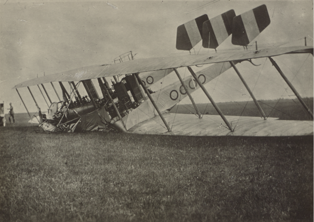 Plane crash, after world war one