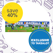 Kalabazoo  Super Football Set