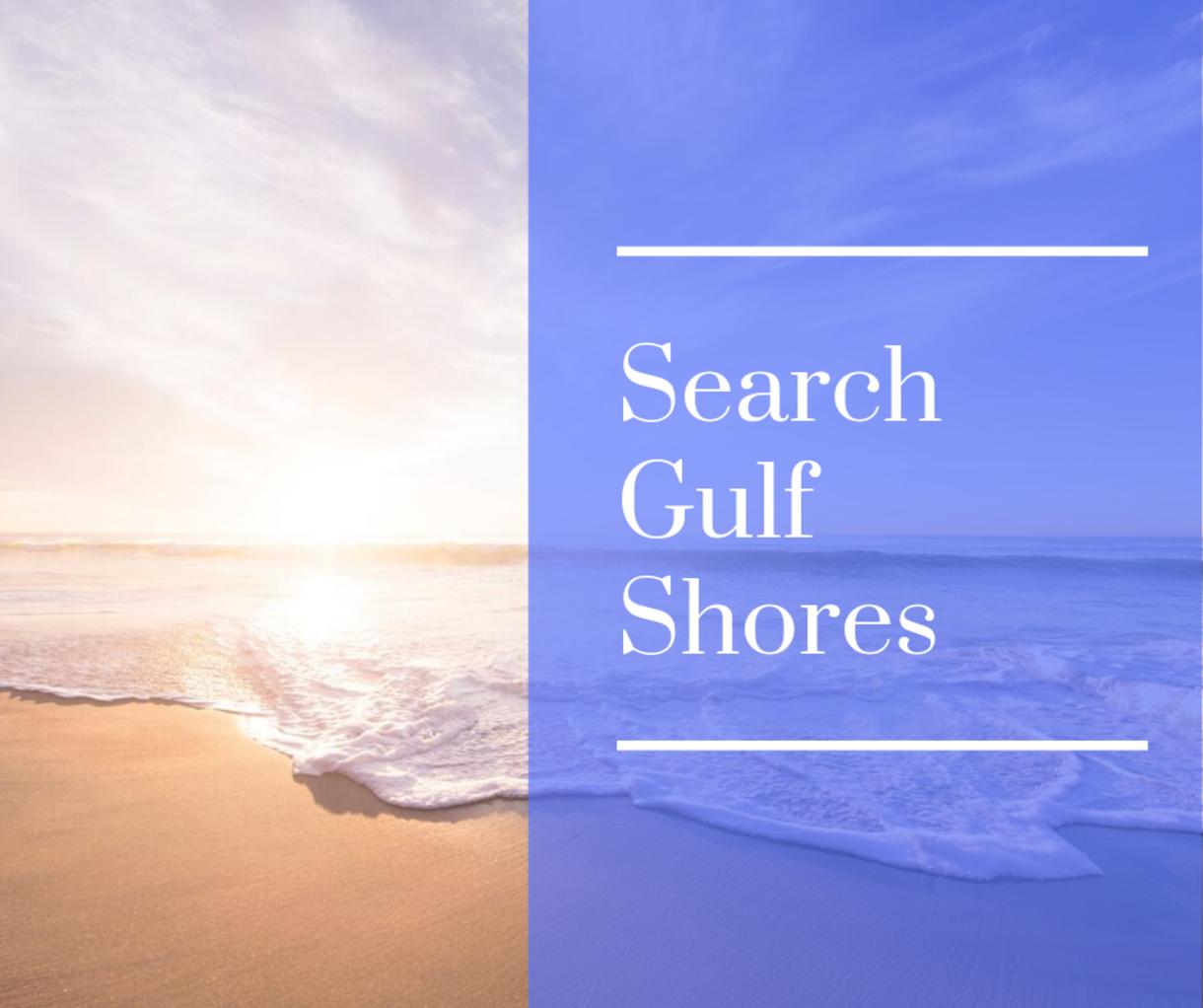 Search Gulf Shores Real Estate
