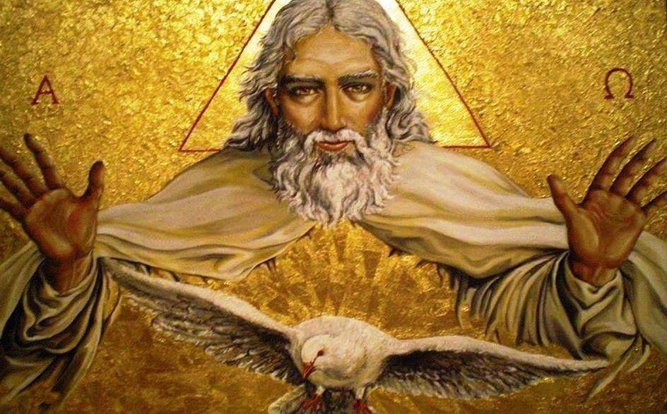 Bóg Ojciec i Duch Święty ! | Duch święty, Chrześcijaństwo, Religia