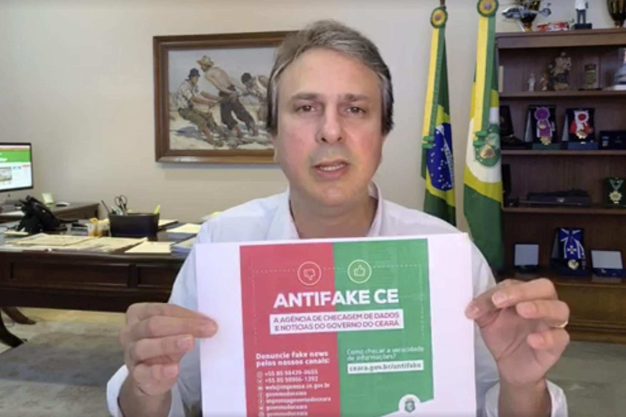 Ceará ultrapassa 400 UTIs para Covid-19 e ganha lei contra Fake News