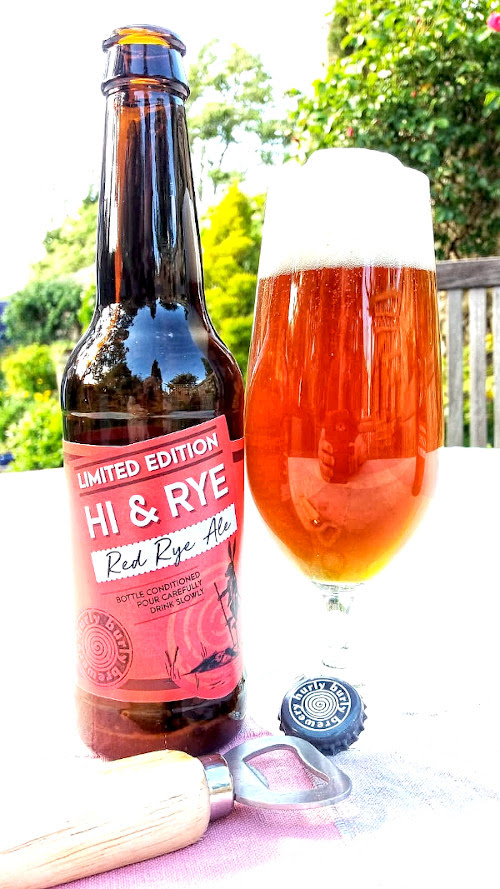 New Red                                                           Rye Ale