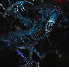 NECA ALIENS XENOMORPH QUEEN DELUXE ACTION FIGURE